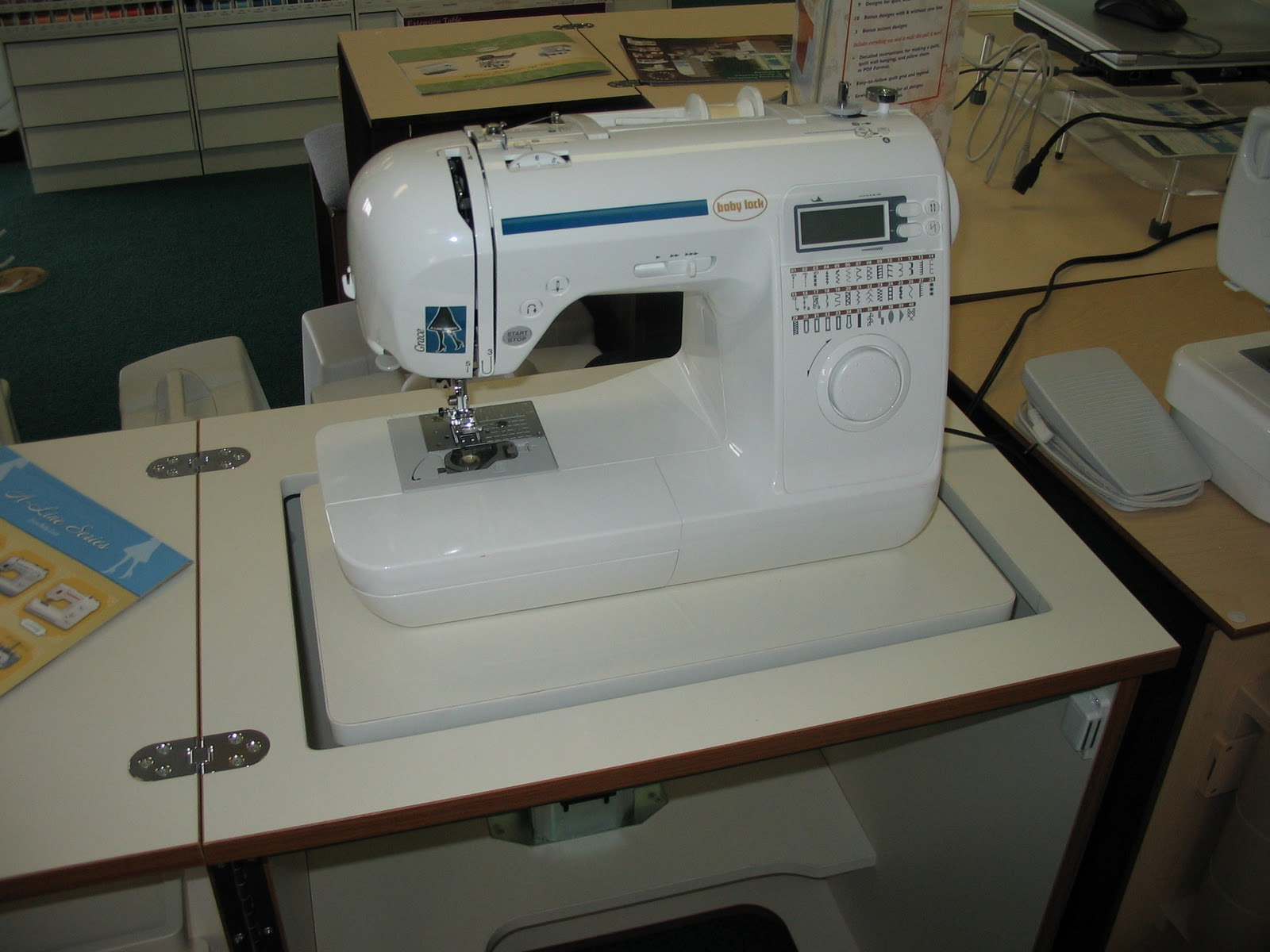 baby lock grace sewing machine prices