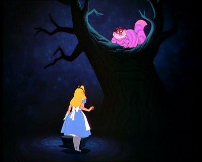 """Resultado de imagem para """"Mas eu não quero me encontrar com gente louca"""", observou Alice. """" Você não pode evitar isso"""", replicou o gato. """"Todos nós aqui somos loucos.Eu sou louco,você é louca"""". """"Como você sabe que eu sou louca?"""" indagou Alice. """"Deve ser"""", disse o gato, """"Ou não estaria aqui""""."""