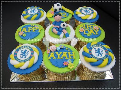 Chelsea Football Cake Ideas