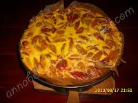 Articole culinare : Prajitura cu prune si sos de smantana