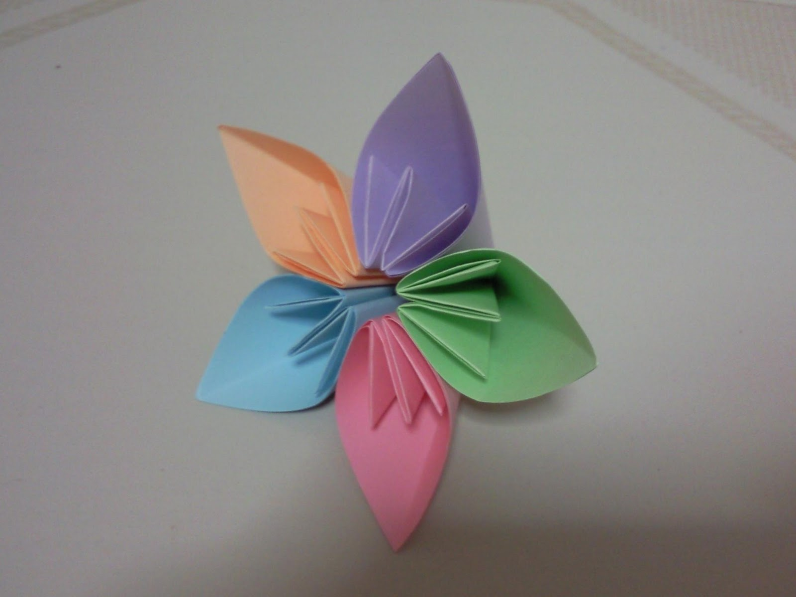 My Lovely Land Origami Flower Ball