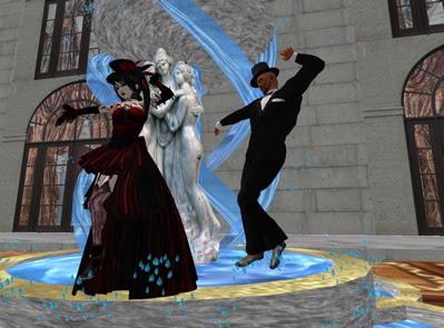dancin in the fountain