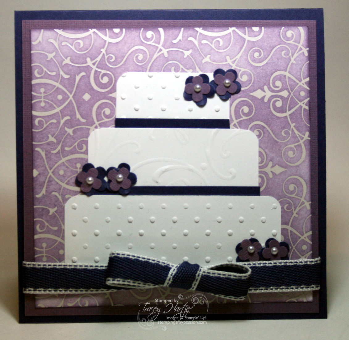 Pinterest Pin: wedding card ideas