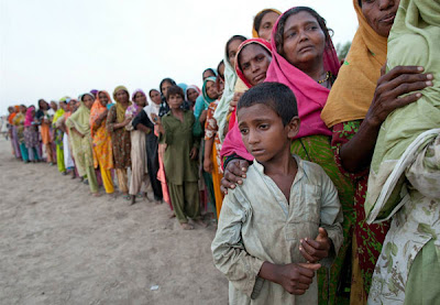 Photo Of Floods In Pakistan Seen On www.coolpicturegallery.net