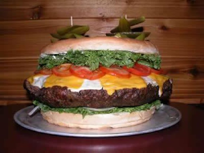 Giant Yummy Cheeseburger Seen On www.coolpicturegallery.us