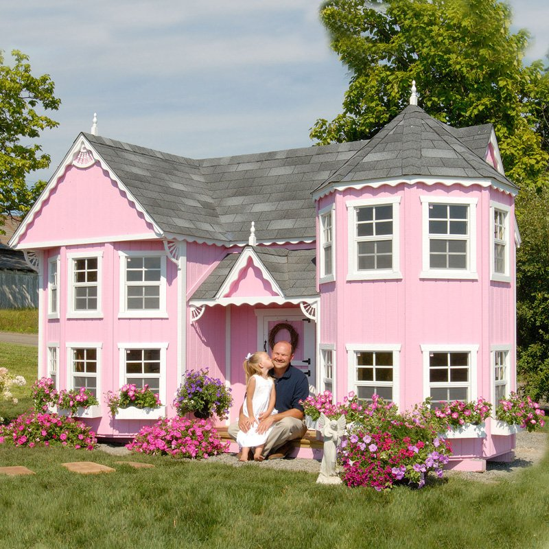 Home sweet home coolest playhouses for Cute cheap houses