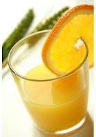 Suco de fruta é saúde e frescor