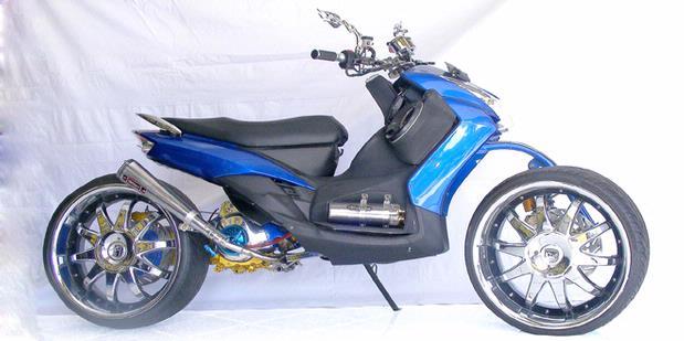 Otomotive World  Yamaha Mio Legged Extremes