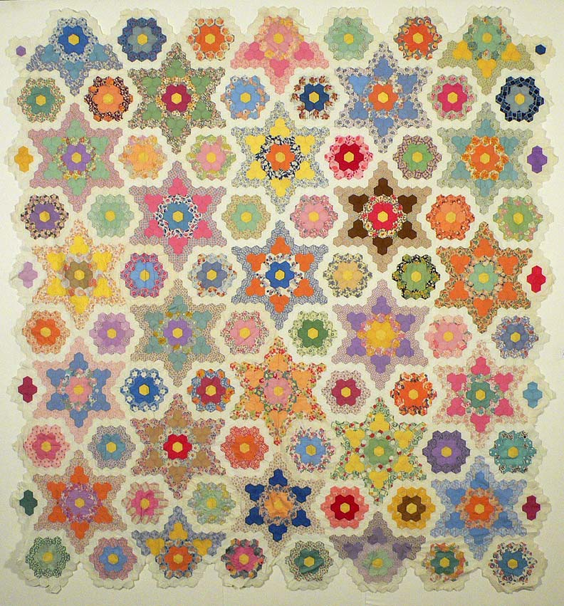 Pin Patchwork-hexagon-pattern-free-quilting-pictures on Pinterest