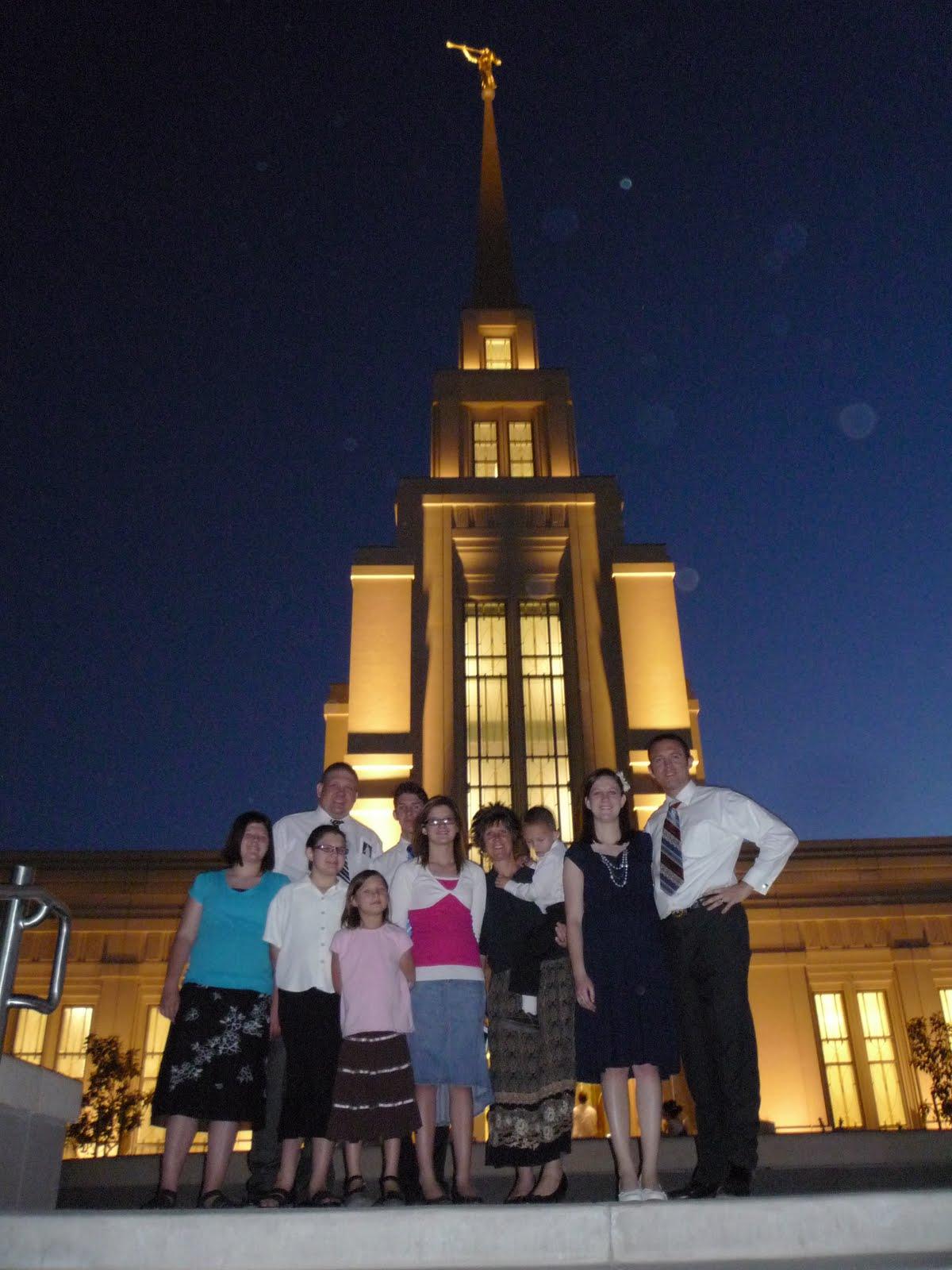 Eternally Brown Gila Valley Temple Open House