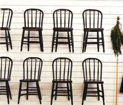 A Lesson On Windsor Chairs