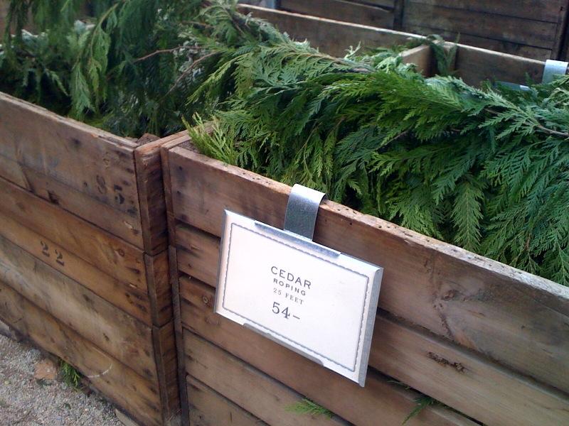 High Street Market Christmas Love At Terrain