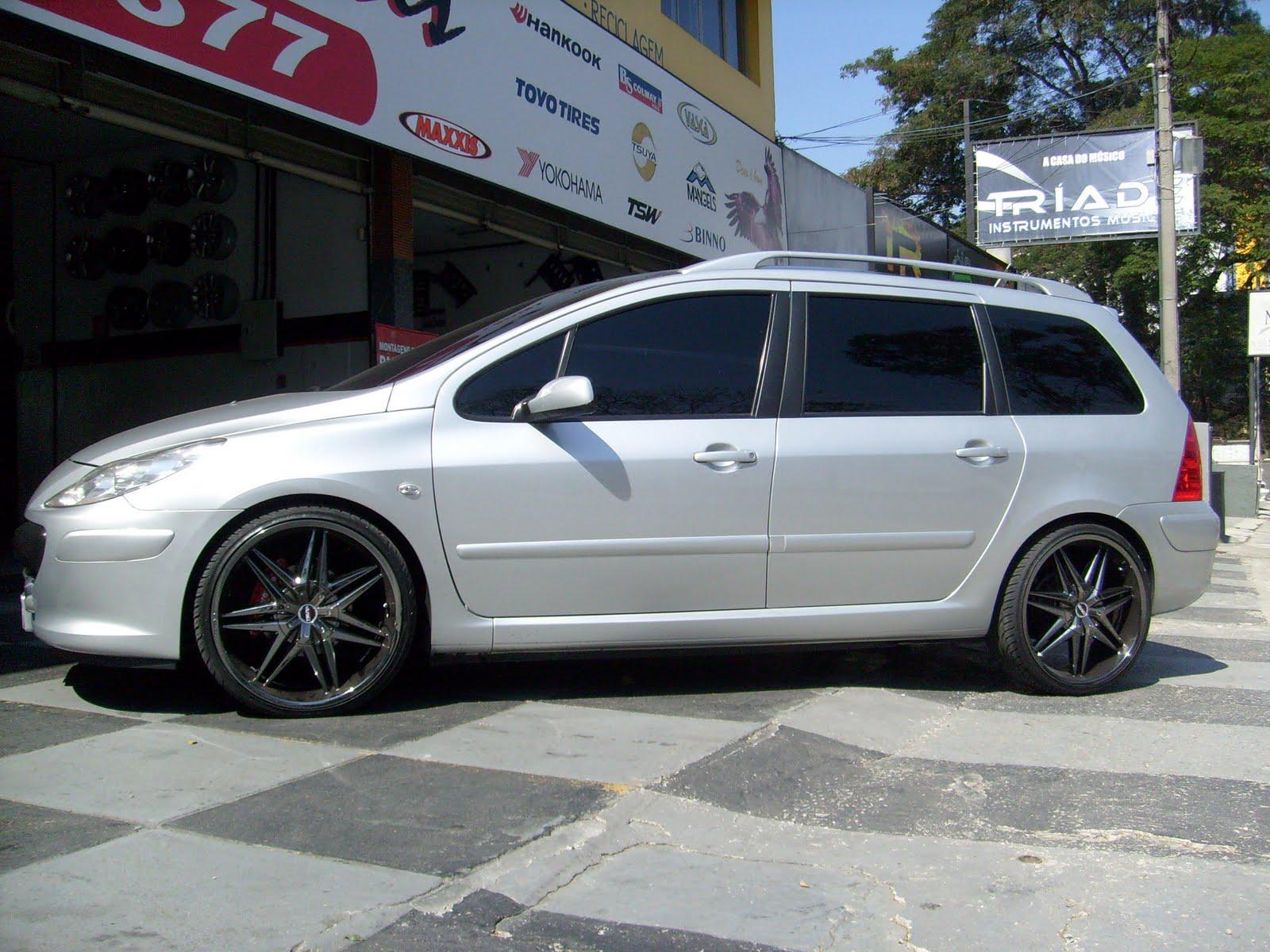 lc3 pneus e rodas peugeot 307 sw 20