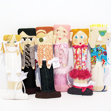 Hip To Be Square Pillow Dolls