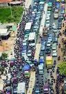jalur pantura macet,Kemacetan,Subang,Jawa Barat,kendaraan macet