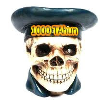 Dua Tengkorak Manusia,Berusia 1000