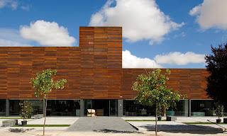 Imar arquitectura metal architecture metal for Fachada acero corten