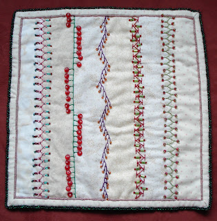 BASIC EMBROIDERY STICHES