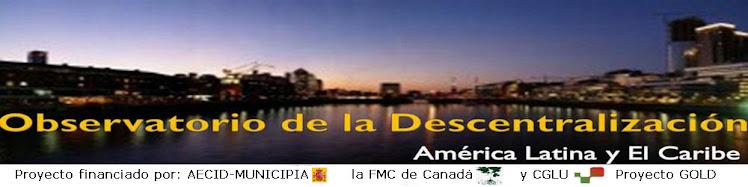 Observatorio Latinoamericano de la Descentralización