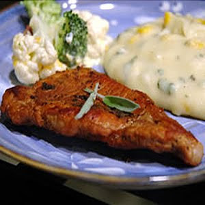 Sage Pork Chops Recipe