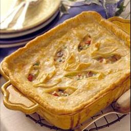 Deep Dish Chicken Pie