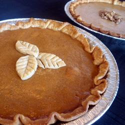 Christmas Perfect Pumpkin Pie