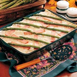 Christmas Asparagus Lasagna Recipe