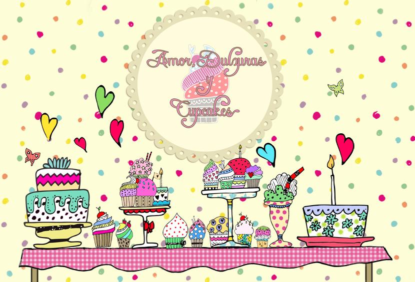 Amor, dulzuras y cupcakes