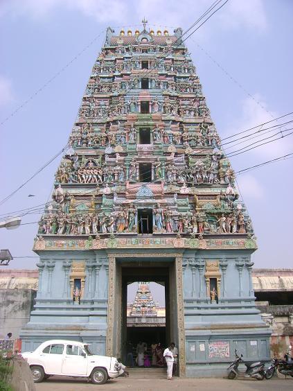 Ashtadasabhuja Durga Darshana - 14. Arulmigu Devi Karumariamman Temple - Thiruverkadu