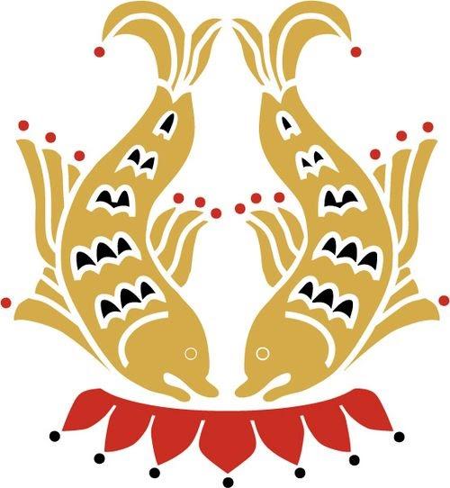 La symbolique des animaux dans le Bouddhisme . Symboles-bouddhistes-poissons