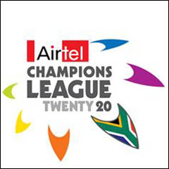 Airtel Champions League T20 logo