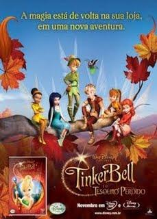TinkerBell e o Tesouro Perdido Dublado