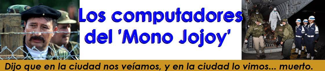 Los computadores del 'Mono Jojoy'