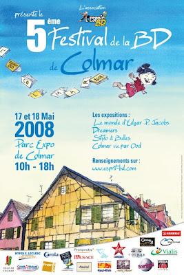 L'ESPRIT BD COLMAR 2008 Affiche+2008