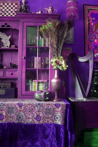 gothic outfits gothic purple room