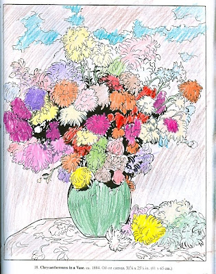 Flowers In A Vase Coloring Pages. using Dover Coloring Books