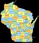 Another Wisconsin State Map