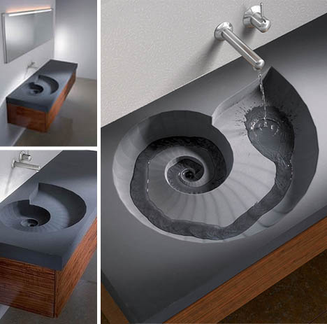 Cool sinks for Cool bathroom sink faucets