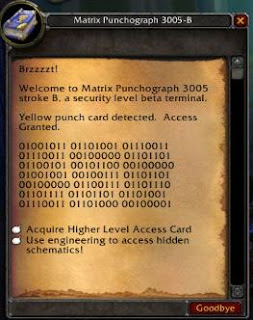 Gnomeregan Zugangskarte