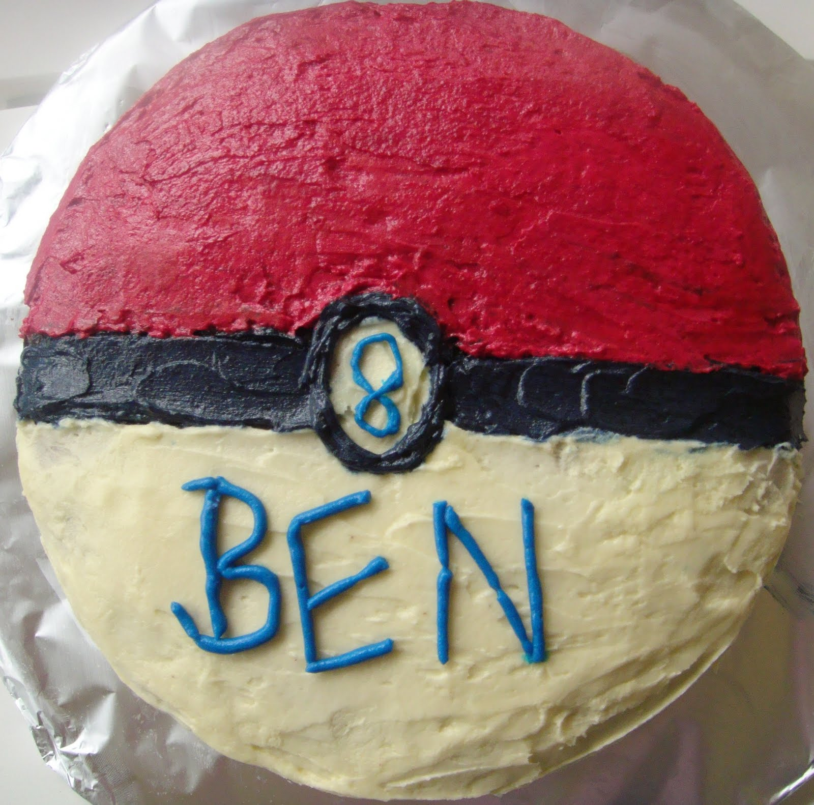 Bake A Charmander Cake