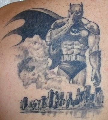 Batman Tattoos from The Dark Knight Movie
