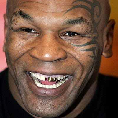 Mike tyson tribal face tattoo