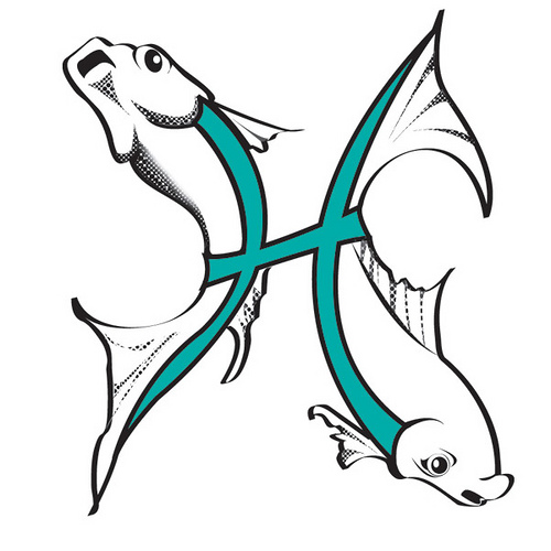 Pisces Tattoo Design Astrology Aquarius Tattoos and Tattoo Designs Pictures