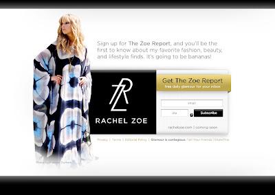 Thank You El Fano The Rachel Zoe Report