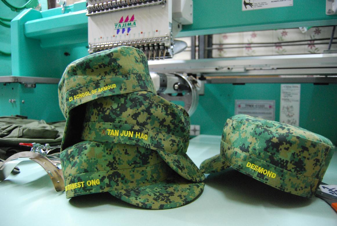 bb7a0f3c5bb Army Jockey Cap Names   Designations Embroidery