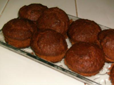 muffins de chocolate Imagem+721