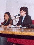 Suzana Varjão e Vera Mattos