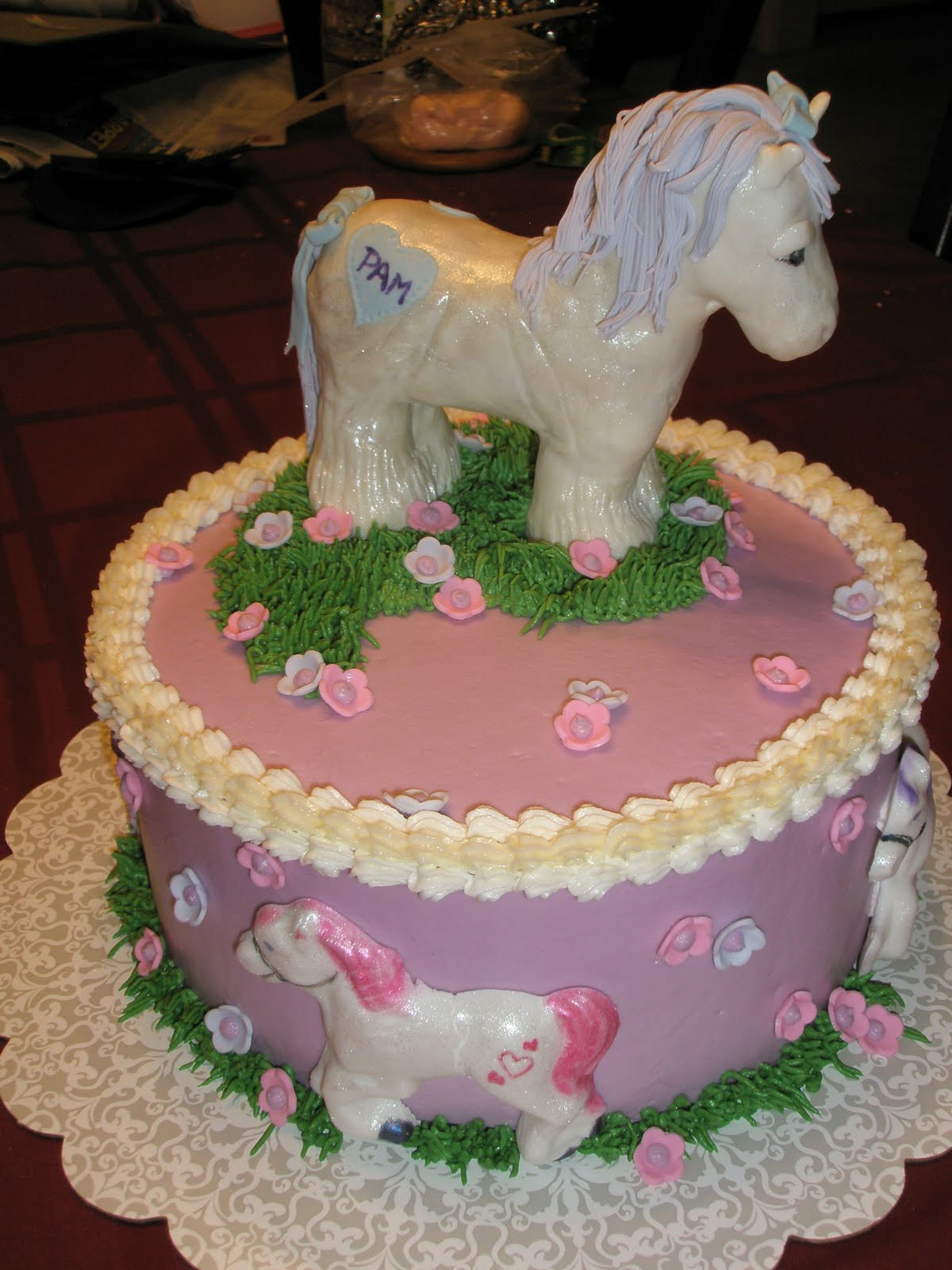 The Cake Engineer Cute Pony Cake