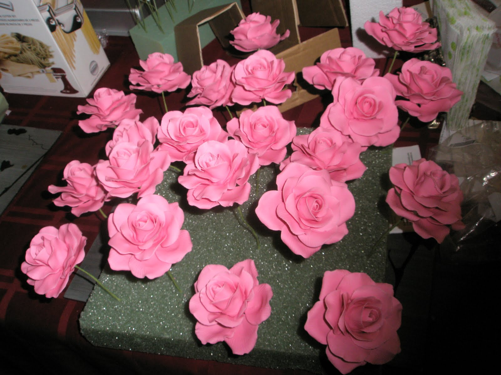 Cake Boss Sugar Flowers submited images