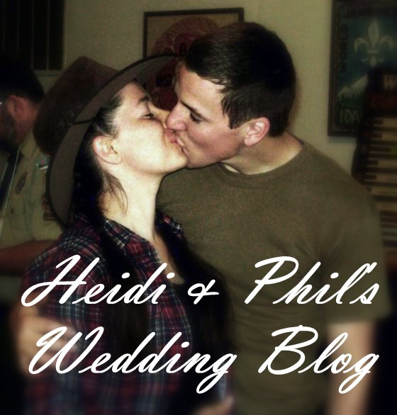Heidi & Phil's Wedding Blog